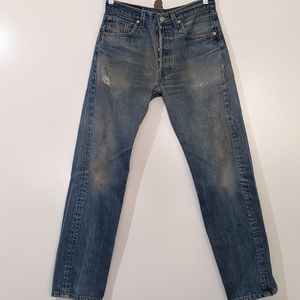 Levi's 50xx 32x34 Distressed Denim Jeans 78-81
